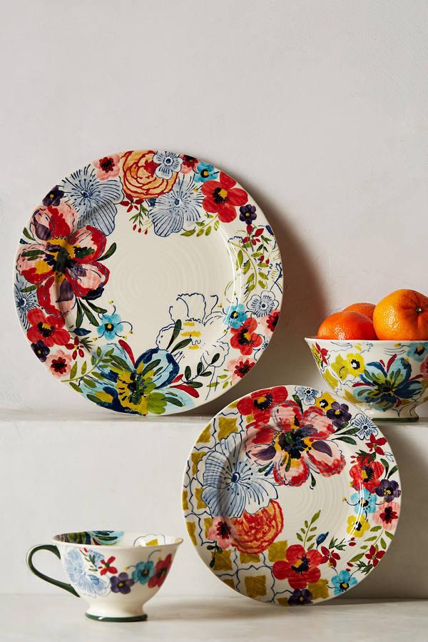 Anthropologie Sissinghurst Castle Dinner Plate