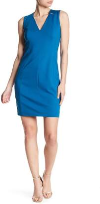 T Tahari Lakira V-Neck Dress