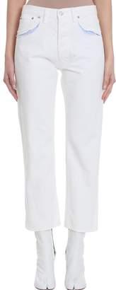 Maison Margiela White Denim Jeans