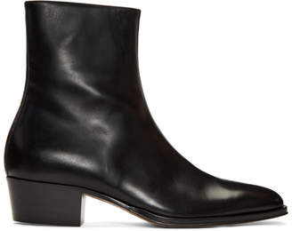 Paul Smith Black Mapleton Boots