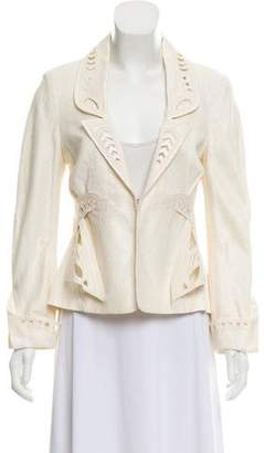 Zac Posen Tailored Cutout Blazer