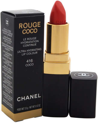 Chanel 0.11Oz #416 Coco Rouge Coco Shine Hydrating Sheer Lipshine