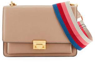 Rebecca Minkoff Christy Medium Leather Shoulder Bag with Web Strap