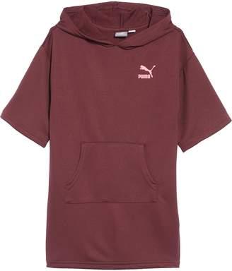 Puma Oversized Hooded Sweatshirt Dress