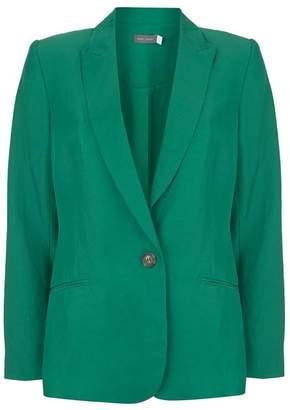 Mint Velvet Ivy Green Tailored Blazer