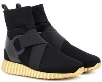 Salvatore Ferragamo Noto 2 knit sock sneakers