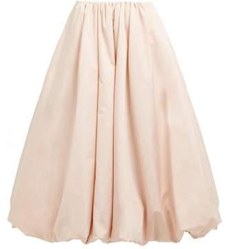 961ac5a7f399 Simone Rocha Bubble Hem Taffeta Midi Skirt - Womens - Pink