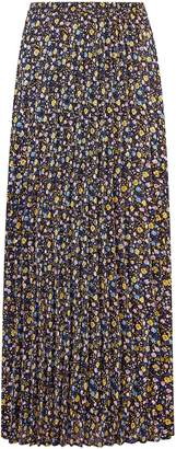 Dorothy Perkins Womens **Only Yellow Floral Print Maxi Skirt