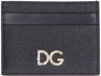 Dolce & Gabbana Leather Credit Card Holder With Logo
