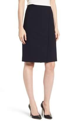 BOSS Vadama Ponte Pencil Skirt