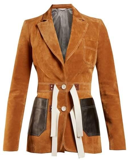 Bastille peak-lapel jacket
