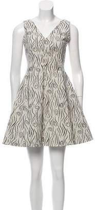 Opening Ceremony Printed A-Line Dress