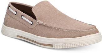 Kenneth Cole Reaction Men's Ankir Canvas Slip-on Boat Shoes Men's Shoes