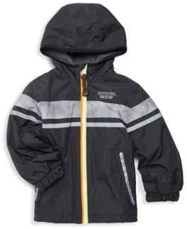 London Fog Little Boy's Logo Hooded Jacket