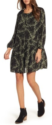 Women's Hinge Button Front Dress $89 thestylecure.com