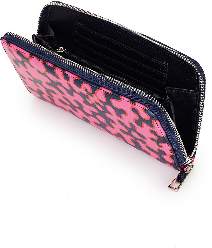 Topshop Splodge Print Purse