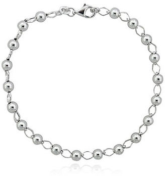 Lord & Taylor Sterling Silver Bracelet $65 thestylecure.com