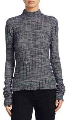 Theory Wool Ribbed Sweater