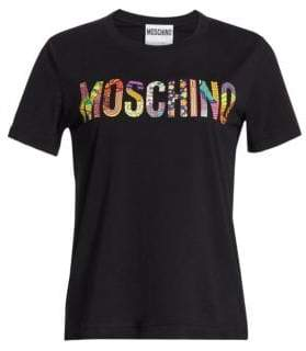 Moschino Mixed Logo Tee