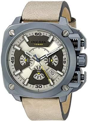 Diesel Men's DZ7342 Analog Display Analog Quartz Brown Watch