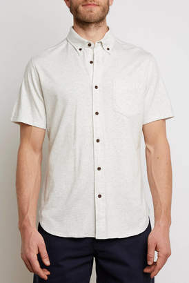 Surfside Supply Short Sleeve Knit Button Down