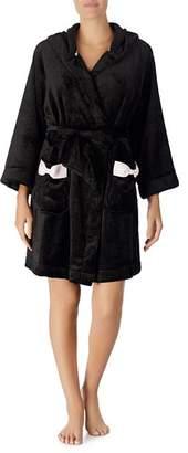 Kate Spade Hooded Fleece Robe