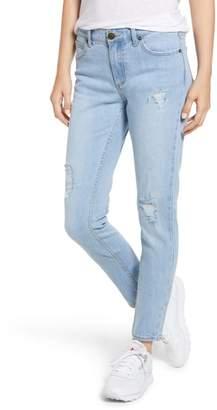 LIRA Nova Ripped Straight Leg Jeans