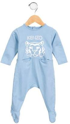 Kenzo Boys' Printed Crew Neck All-In-One