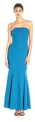 Jill Stuart Women's Fitted Strapless Column Gown