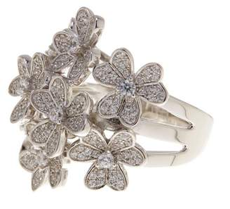 Savvy Cie CZ Floral Bouquet Ring