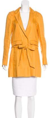 Chloé Knee-Length Linen Coat