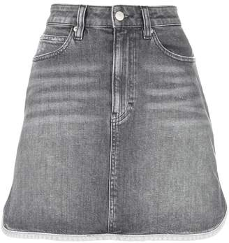 Calvin Klein Jeans A-line denim mini skirt
