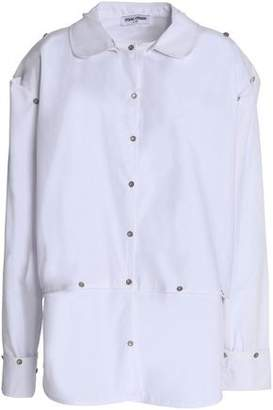 Opening Ceremony Woman Embroidered Cotton-poplin Shirt Dress White Size 8 Opening Ceremony Buy Cheap Good Selling Get Clearance Visit New Sale High Quality Cheap Sale Visit New i21Po