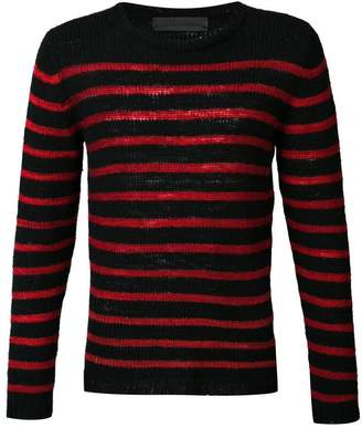 The Elder Statesman cashmere Picasso jumper