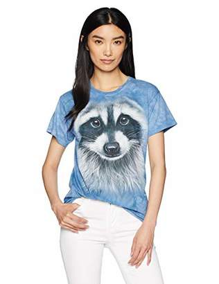 The Mountain Raccoon Face Adult Woman's T-Shirt