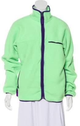 Patagonia Fleece Mock Neck Jacket