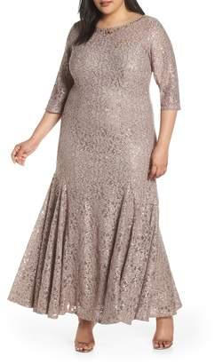 Alex Evenings Beige Plus Size Dresses - ShopStyle