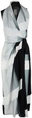 Rick Owens Wrap front midi-dress