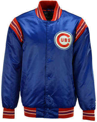 G-iii Sports Men's Chicago Cubs Starter Legacy Satin Jacket