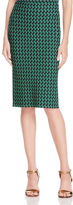 Whistles Foulard Jacquard Knit Skirt $210 thestylecure.com