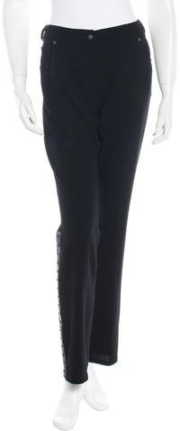 Christian Dior Wool Belted Pants