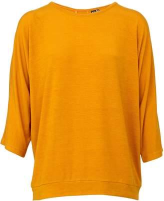 2b7b866b117066 Dorothy Perkins Womens *Izabel London Mustard Button Detail Top