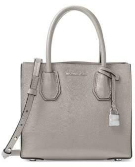 MICHAEL Michael Kors Mercer Medium Leather Messenger Bag