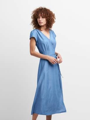 Gap TENCEL? Short Sleeve Midi Dress