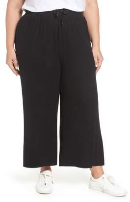 BP High Rise Wide Leg Knit Crop Pants