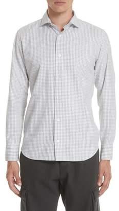Eleventy Slim Fit Check Dress Shirt