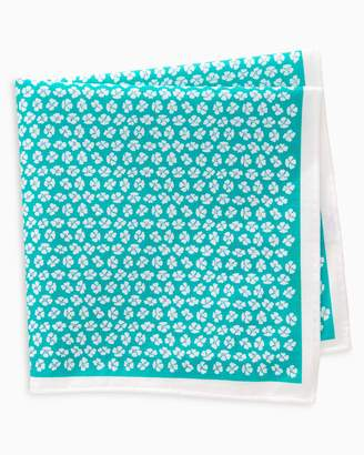 Southern Tide Whitefield Floral Pocket Square