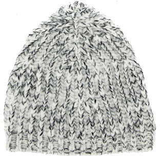 Marc JacobsMarc Jacobs Grey Knitted Beanie