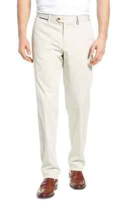 Hiltl Peaker Flat Front Stretch Cotton Trousers