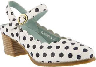 Spring Step L'Artiste by Leather Mary Jane Shoes - Dotanella